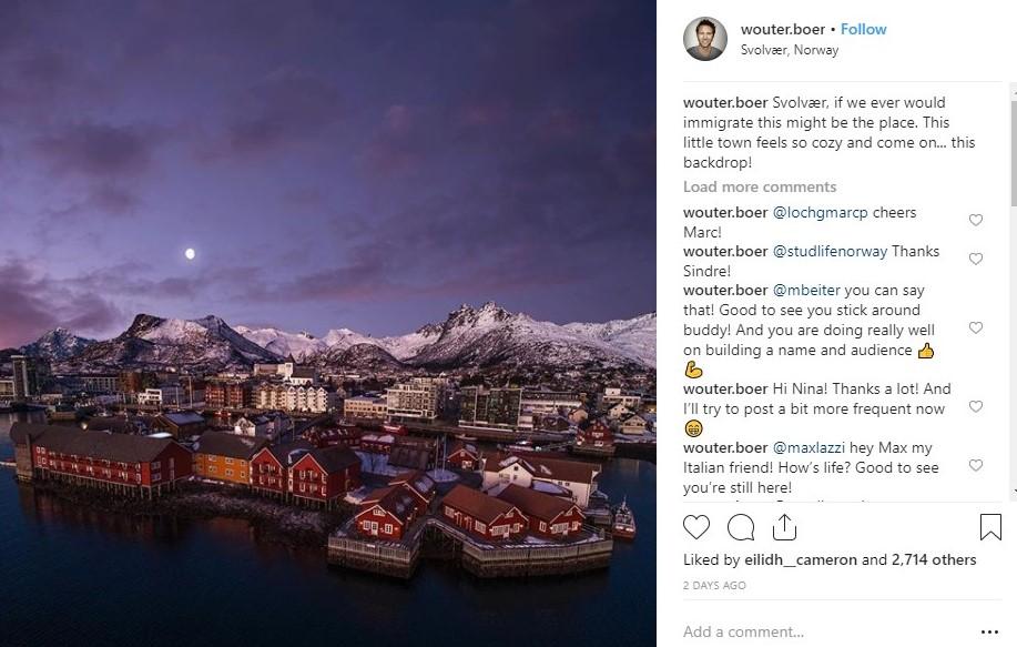 Svolvaer Norway